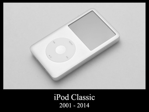 RIP the iPod Classic