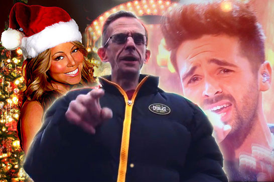 Mariah, Ben Haenow, and the Wealdstone Raider!