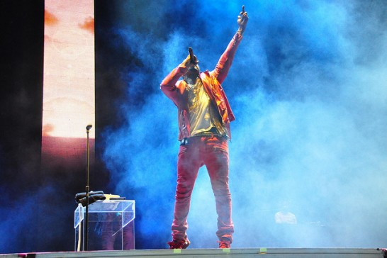 Kanye in concert