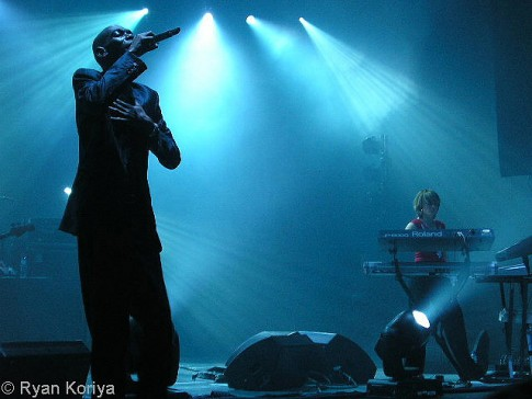Faithless performing