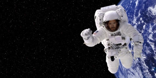 David Guetta in space!