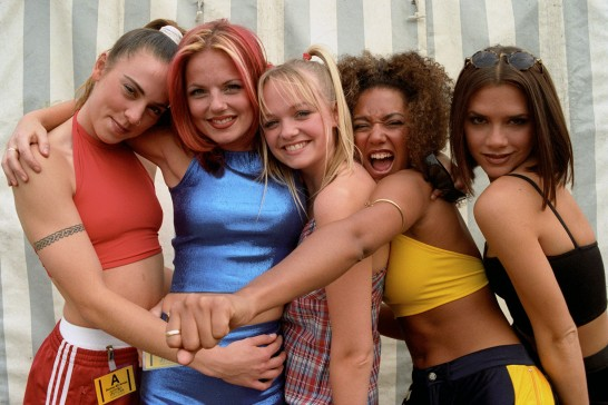 Spice Girls back in the day